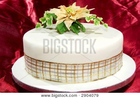 Round Iced Fruit Cake