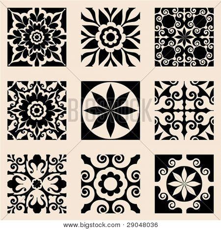 barocke Icon-set