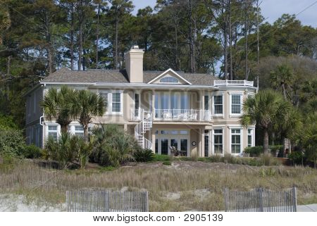 Large Oceanfront Home