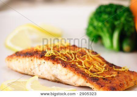 Grilled Organic Salmon
