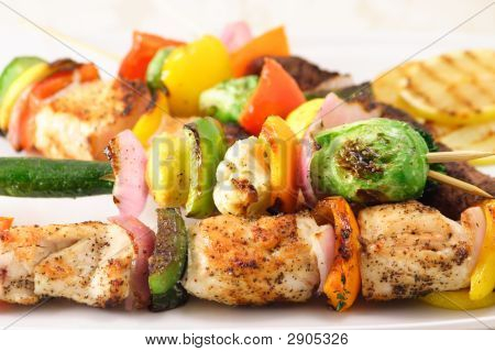 Grilled Shish Kabobs