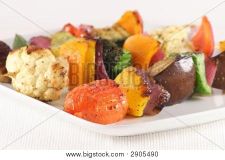 Vegan Grilled Skewers