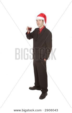 Professional At Christmas Party