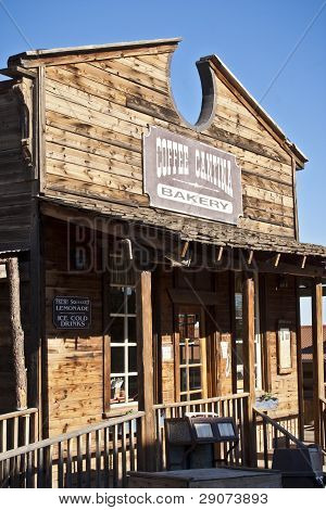 Old Mining Ghost Town