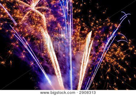 Vibrant Fireworks