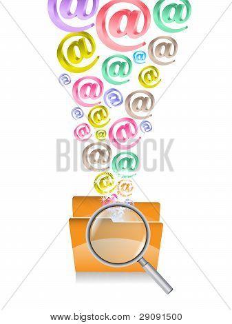 Folder And Alfabets