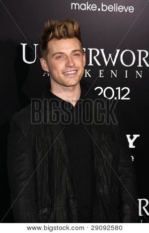 LOS ANGELES - JAN 19:  Jeremiah Brent arrives at  the