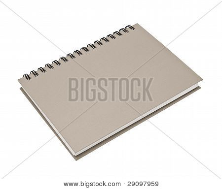 Gray Spiral Notebook