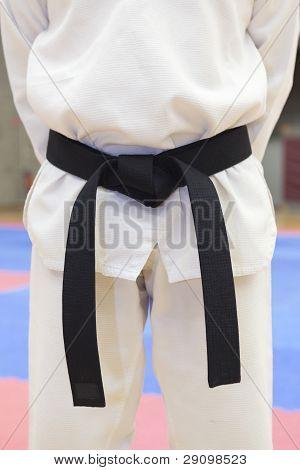 Taekwondo Black Belt