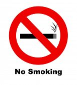 pic of inference  - A no smoking sign for use in any smoking inference - JPG
