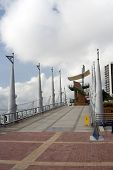foto of guayaquil  - malecon 2000 boardwalk outdoor park guayaquil ecuador guayas river south america - JPG