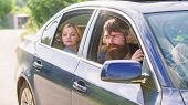 Car With Open Windows And Passenger. Business Lady Passenger Has Private Driver. Personal Assistant  poster