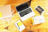 Working Desk Online Business. Business Online.working Desk Online Business. Business Online. poster