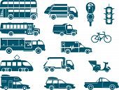 stock photo of driving school  - All types of City Transport  - JPG