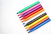 Multi-colored Markers. Markers For Drawing. Office Supplies Store. Drawing School. Drawing Tool poster
