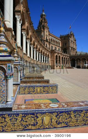 Place Of Spain In Seville
