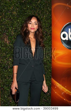 LOS ANGELES - SEP 28:  Ashley Madekwe arrives at the ABC Sunday Night Event at Lexington Social Club on September 28, 2012 in Los Angeles, CA