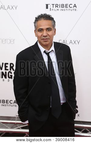 NEW YORK-NOV 12: John Ortiz attends the premiere of