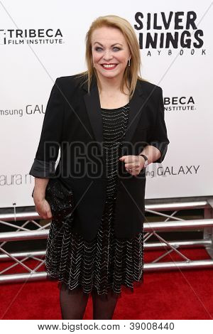 NEW YORK-NOV 12: Actress Jacki Weaver attends the premiere of
