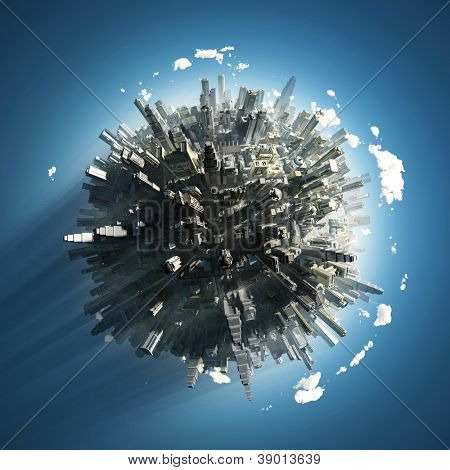 big city on small planet