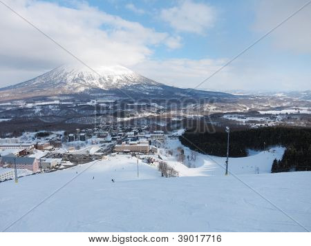 Ski runs in Hokkaido, Japan (Hirafu, Niseko and Mount Yotei)