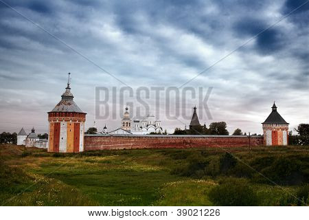 Orthodoxy temple in city of Vologda