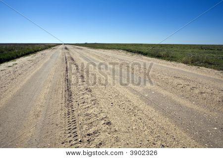 Kansas Farm Road