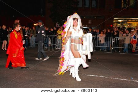 Oct 31, 2008,  Manhattan - The Largest Halloween Parade In The World