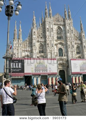 Duomo In Milano, Italy