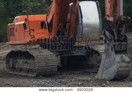 Heavy Construction Backhoe V1