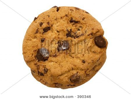 Single Chocolate Chip Cookie W/ Path