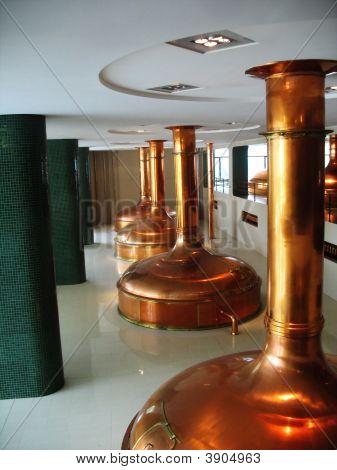 Brewery Museum In Plzen Czech