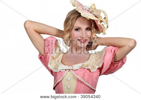 Woman with costume