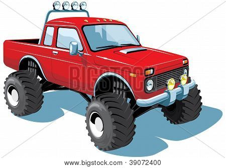 Monster truck - My own car design.