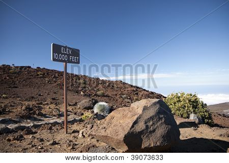 Haleakala Mountain