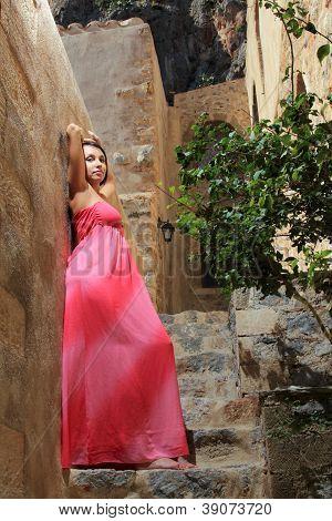 Pretty Girl With Dress