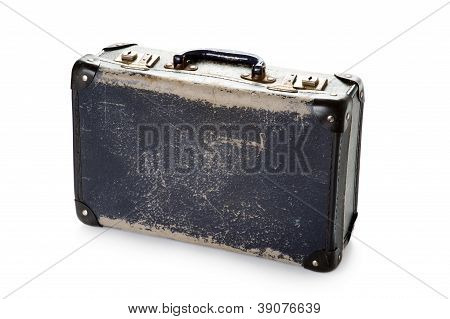 Well Worn Vintage Suitcase