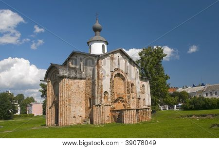 Church Of St. Paraskeva Piatnitsa In The Marketplace. Veliky Novgorod