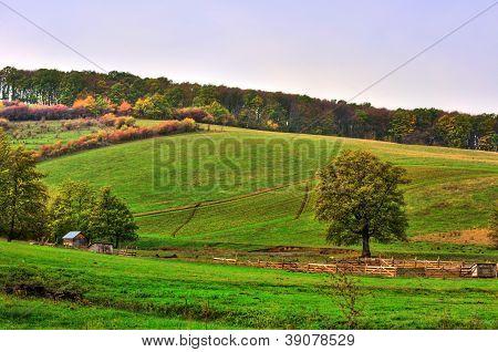 rural lanscape HDR