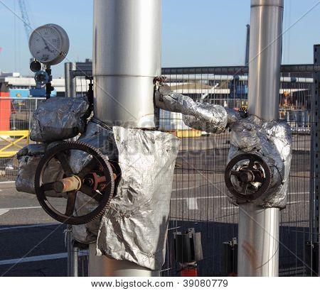 Steam and condensate valves