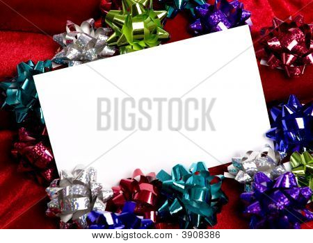 Christmas Decorations Notecard