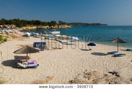 Potos Beach Thasos Island Greece