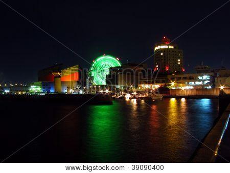 Osaka bay, Japan
