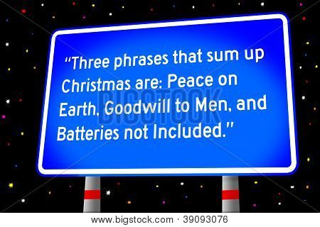 funny saying about Christmas