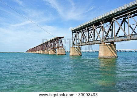 Bahia Honda Bridge in the Florida Keys