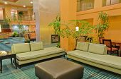 image of reception-area  - Lounge area of a hotel - JPG