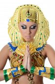 stock photo of pharaohs  - The girl - JPG
