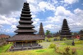 The Mother Temple of Besakih or Pura Besakih, largest and holiest hindu temple on Bali, Indonesia