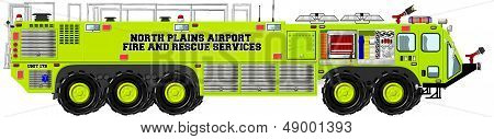 Airport Rescue and Firefighting Unit