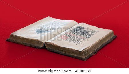 Livro do Vintage do século 15St